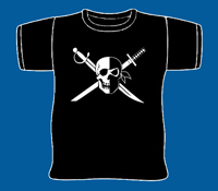 Pirates vs Ninjas T-Shirt L