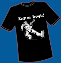 Keep on Troopin' T-Shirt, L