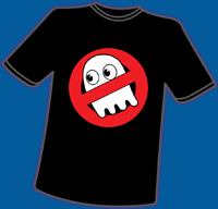 Ain't Afraid of No Ghosts T-Shirt, M