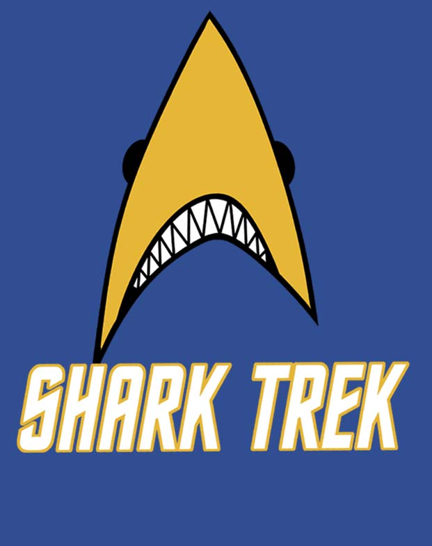 Shark Trek T-shirt, S