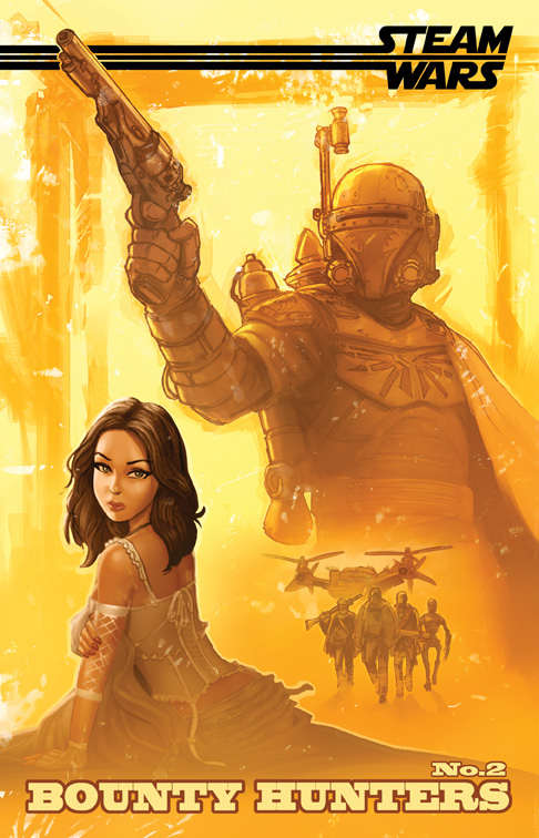 Steam Wars: Bounty Hunters Issue 2