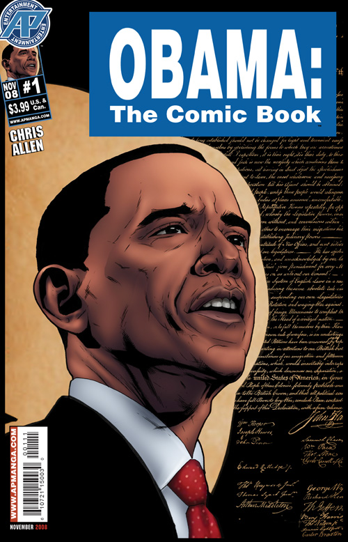 Obama the Comic Book